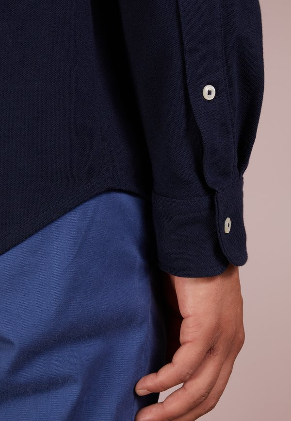 Polo Ralph Lauren LONG SLEEVE - Koszula - aviator navy/granatowy Odzież Męska XASP