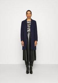 Selected Femme - SLFELINA - Short coat - maritime blue - 1