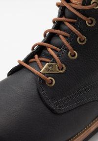 Panama Jack - IGLOO - Šněrovací kotníkové boty - black - 5