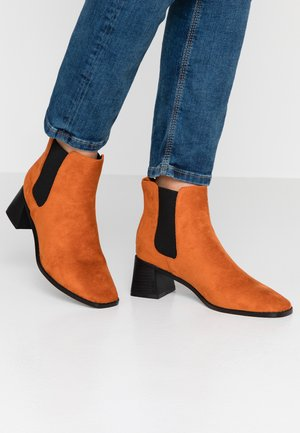 MAXINE - Ankle boot - rust