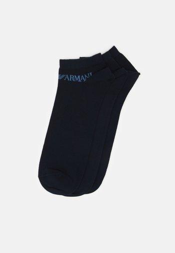 IN SHOE SOCKS 3 PACK - Socks - blue
