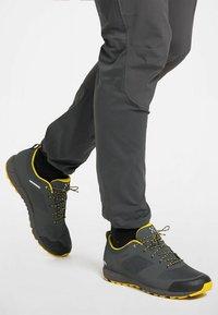 Haglöfs - L.I.M LOW PROOF ECO - Hiking shoes - magnetite/signal yellow - 1