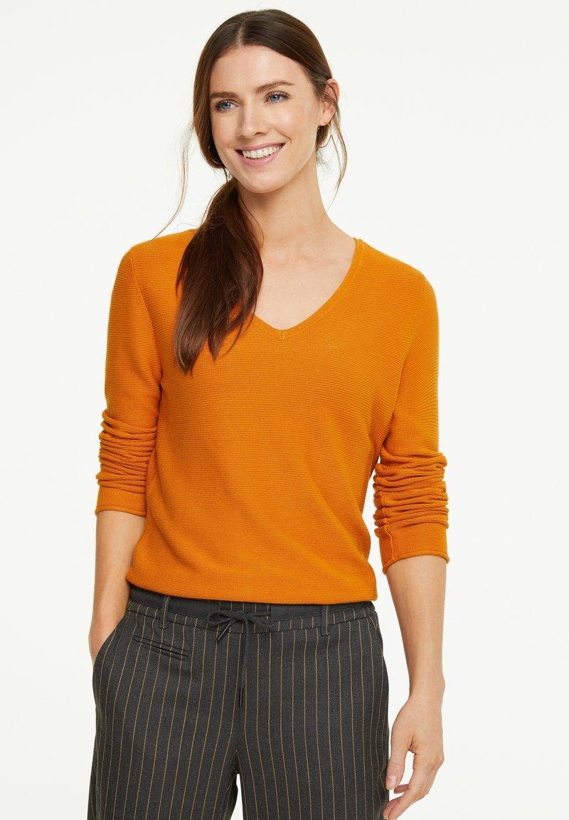 comma casual identity - Jumper - orange