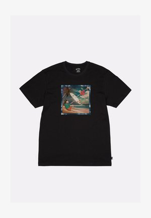 FIRST SIGHT  - Print T-shirt - black