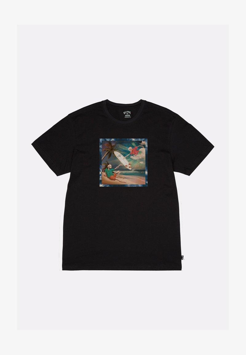 Billabong - FIRST SIGHT  - Print T-shirt - black