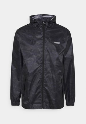 PRINTD PACK IT - Outdoor jacket - black camo