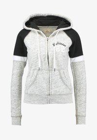 Hollister Co. - CORE - Zip-up hoodie - heather grey - 4