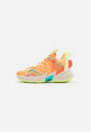 WHY NOT ZER0.3 SE - Basketbalové boty - light liquid lime/black/psychic purple/pink blast/white/amarillo