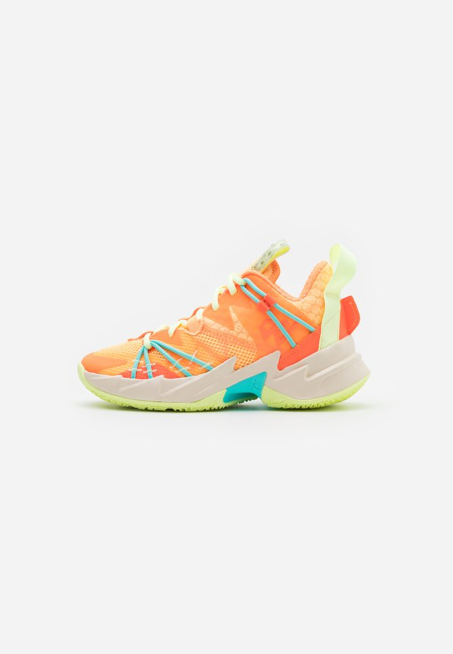 WHY NOT ZER0.3 SE UNISEX - Zapatillas de baloncesto - light liquid lime/black/psychic purple/pink blast/white/amarillo