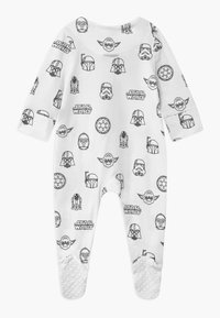 Cotton On - LUCASFILMS STAR WARS LONG SLEEVE ZIP UNISEX - Sleep suit - white - 1
