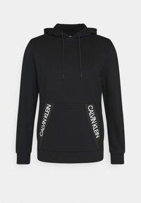 Calvin Klein Performance - HOODIE - Felpa con cappuccio - black - 4