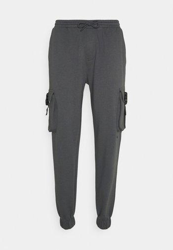 UNISEX TROUSER - Cargo trousers - grey