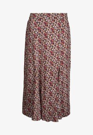 MELINA  - A-line skirt - macaroon flower