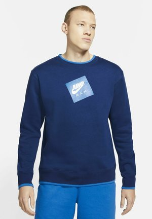 Sweatshirt - blue void/signal blue