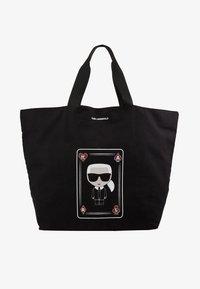 KARL LAGERFELD - SHOPPER - Shoppingveske - black - 5