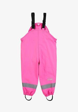 REGENTRÄGERHOSE GEFÜTTERT - Rain trousers - pink