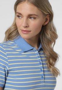 Franco Callegari - Polo shirt - blau gelb - 2