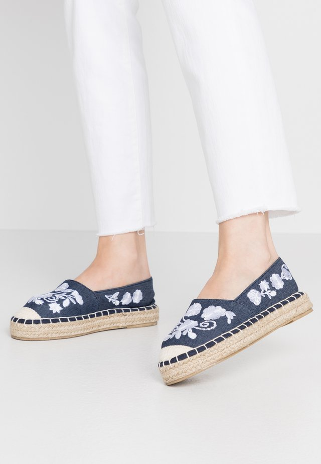Loafers - blue
