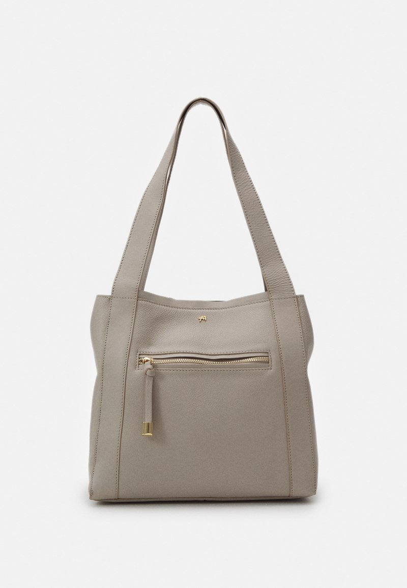 Anna Field - LEATHER - Kabelka - taupe