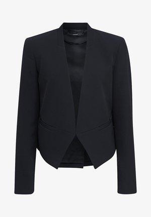 MIT RÜCKENFALTE - Blazer - black