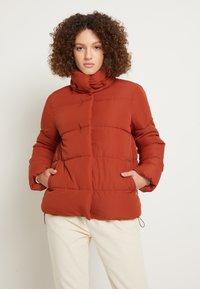 TOM TAILOR DENIM - Zimní bunda - rust orange - 0