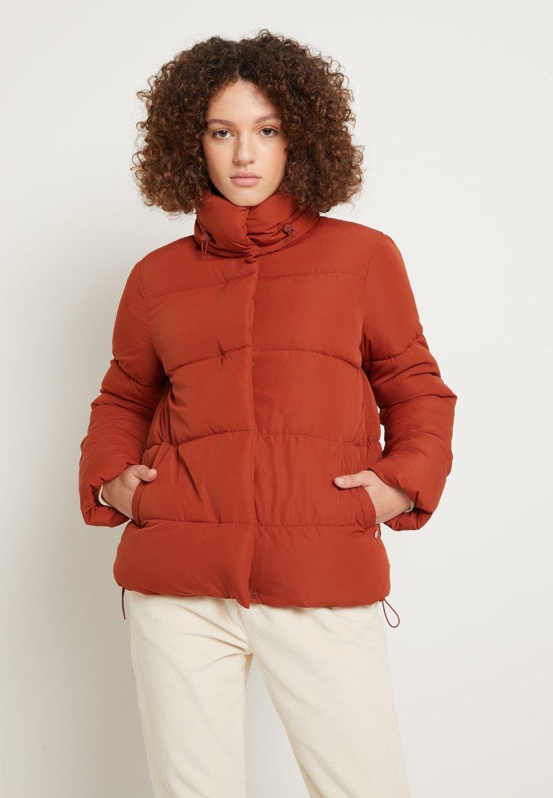 TOM TAILOR DENIM - Zimní bunda - rust orange