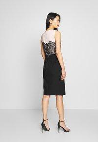 Apart - COLORBLOCKING DRESS - Robe de soirée - black - 2