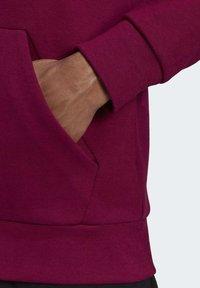 adidas Performance - MUST HAVES FULL-ZIP STADIUM HOODIE - Zip-up hoodie - purple - 6