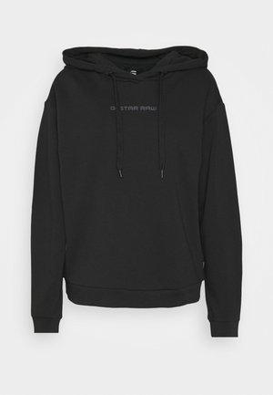 GRAPHIC CORE  - Bluza z kapturem - dark black
