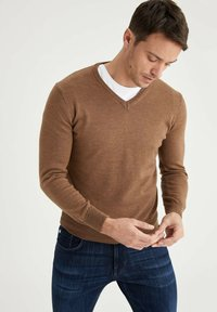 DeFacto - ITALIAN COLLECTION - Jumper - brown - 0