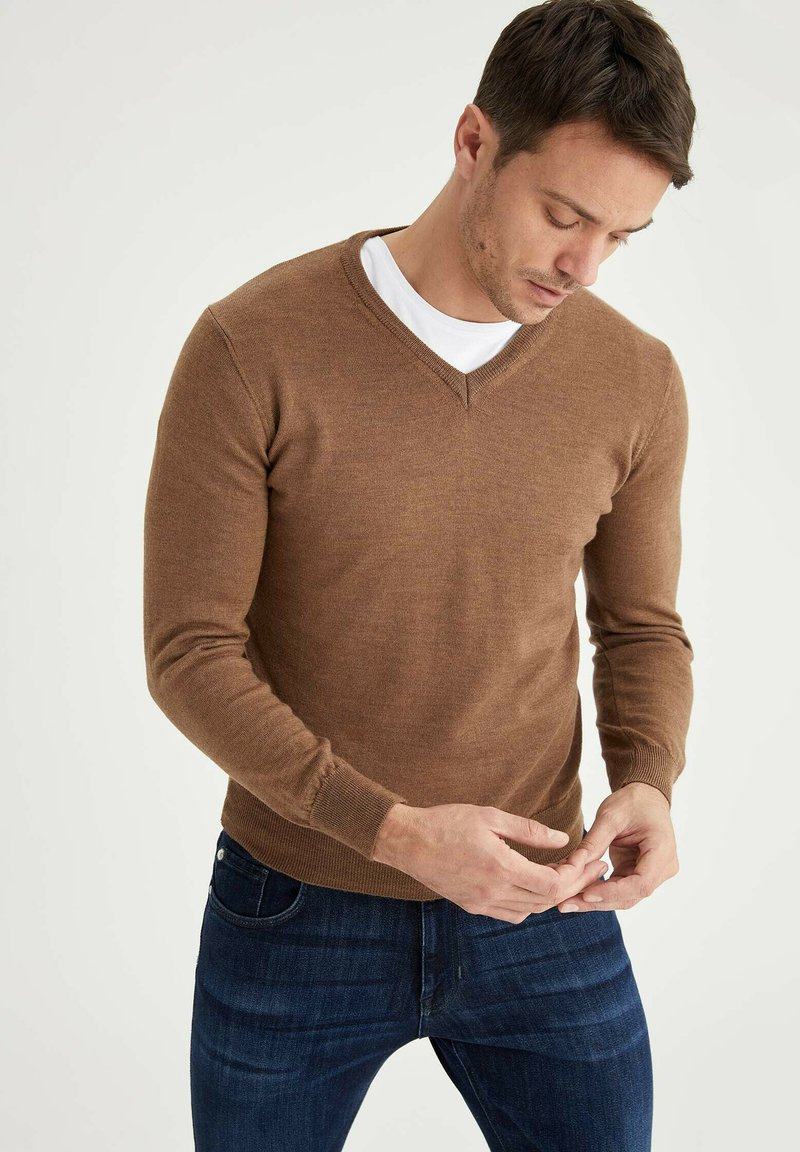 DeFacto - ITALIAN COLLECTION - Jumper - brown
