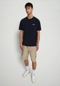 Napapijri - S-PATCH SS - T-shirt basic - blu marine - 1