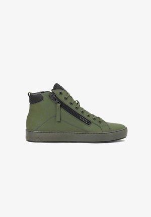 LEONID - Sneakers hoog - green