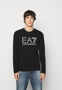 EA7 Emporio Armani - Long sleeved top - black - 0