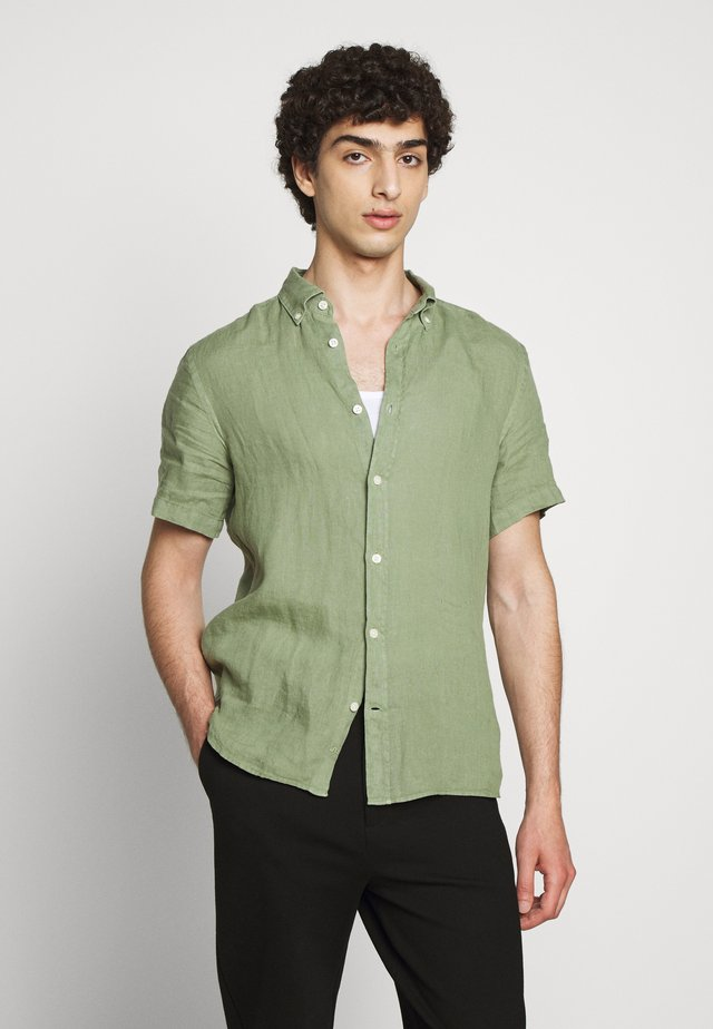 FREDRIK CLEAN  - Shirt - sage green
