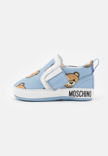 First shoes - light blue
