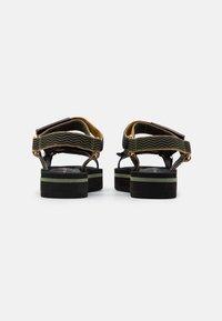 Kurt Geiger London - OLIVIA - Platform sandals - khaki - 3