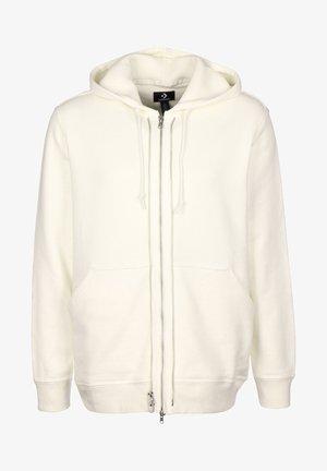 UTILITY - Zip-up hoodie - egret