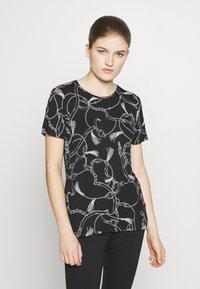 Lauren Ralph Lauren - Print T-shirt - black - 0