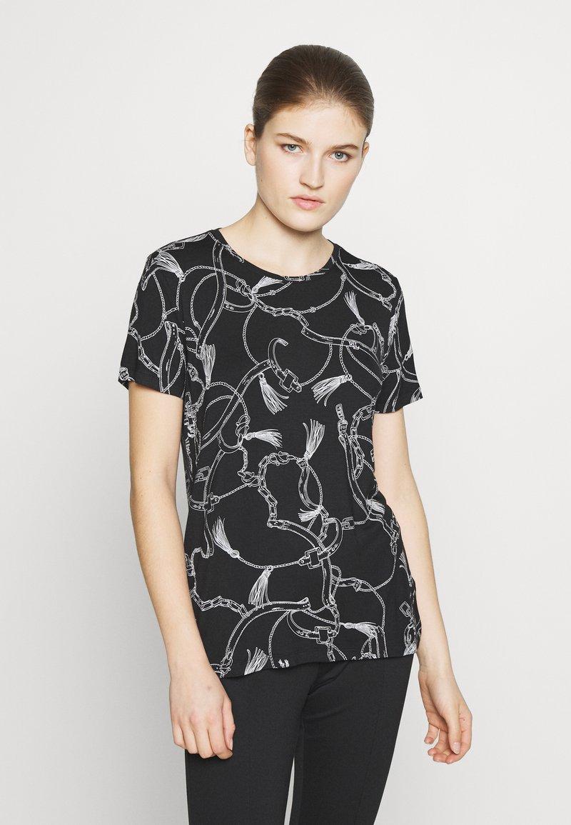 Lauren Ralph Lauren - T-shirt imprimé - black