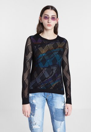 FERRARA - Pullover - black