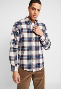 Abercrombie & Fitch - ICON TARTAN PLAID  - Camicia - cream plaid - 0