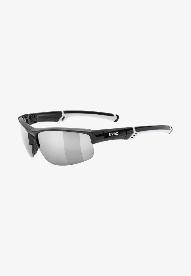 Sports glasses - black/white