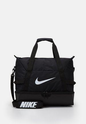 TEAM - Sports bag - black/white