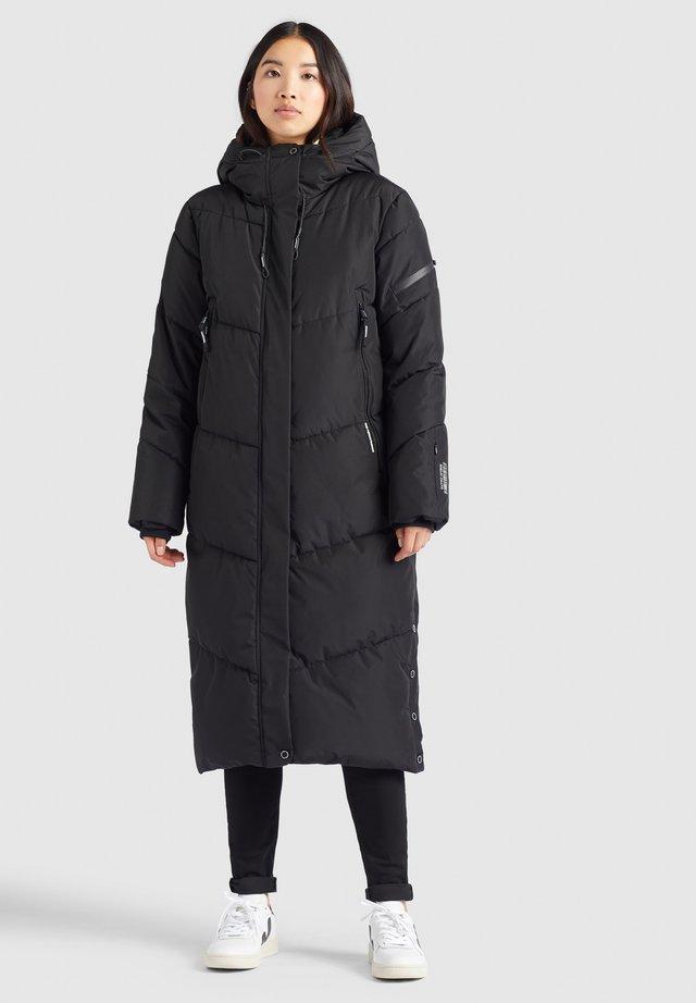 SONJE - Winter coat - schwarz