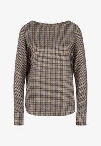 s.Oliver - Long sleeved top - grey aop checks - 5