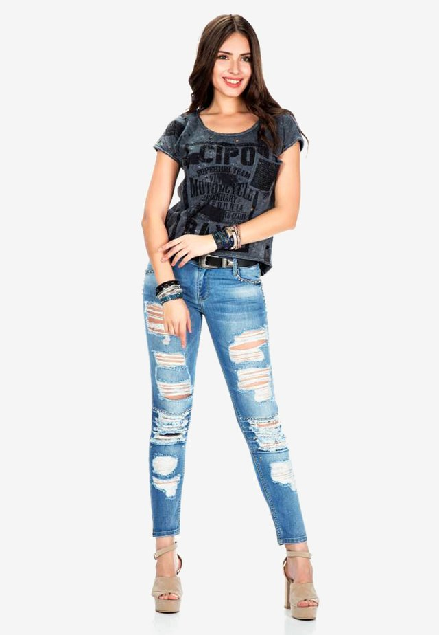 SLIM FIT - Slim fit jeans - blue
