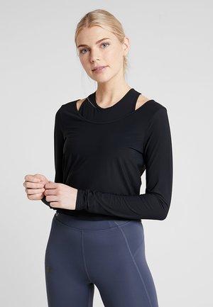 MISTY - Bluzka z długim rękawem - black
