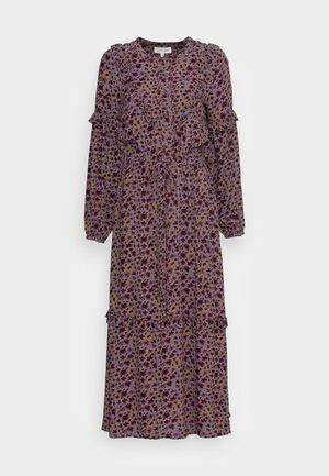 TABITHA FRILL MAXI DRESS - Maxi dress - amethyst grey