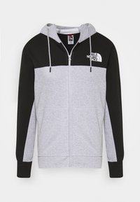 light grey heather/black